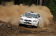 Eli Evans & Chris Murphy.Motorsport-Rally/2008 Coffs Coast Rally.Heat 1.Coffs Harbour, NSW.15th of November 2008.(C) Joel Strickland Photographics