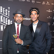 NLD/Amsterdam/20171114 - Esquire's Best Dressed Man 2017, Maurice Lede