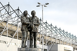 Statue outside Pride Park Stadium to Former Derby County Manager Brian Clough and his Assistant Peter Taylor - Mandatory by-line: Robbie Stephenson/JMP - 22/12/2018 - FOOTBALL - Pride Park Stadium - Derby, England - Derby County v Bristol City - Sky Bet Championship