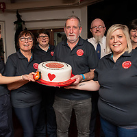 REPRO FREE<br /> Kinsale CFR members Ciara Scanlon; Teresa Grogan, Susan McCarthy, Peter Tiernan, Caroline O'Donovan and chairperson Colette Forde along with Donal Lonergan, National Ambulance Service pictured celebrating at the official launch of Kinsale Community First Responders.<br /> Picture. John Allen