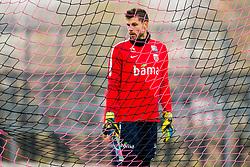 November 12, 2017 - Skopje, MACEDONIA - 171112 Goalkeeper Rune Almenning Jarstein of Norway during a training session on November 12, 2017 in Skopje..Photo: Vegard Wivestad GrÂ¿tt / BILDBYRN / kod VG / 170053 (Credit Image: © Vegard Wivestad Gr¯Tt/Bildbyran via ZUMA Wire)