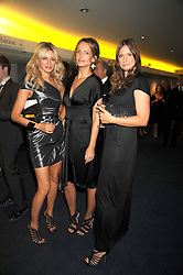 Left to right, TESS DALY, SAFFRON ALDRIDGE and CAMILLA JOHNSON-HILL at the GQ Men of the Year Awards held at the Royal Opera House, London on 2nd September 2008.<br /> <br /> NON EXCLUSIVE - WORLD RIGHTS