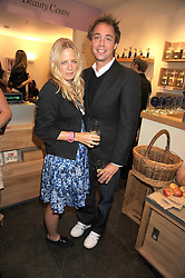 ASTRID HARBORD and DAN PHILIPSON at the Natural Beauty Honours 2008 hosted by Neal's Yard Remedies, 124b King's Road, London SW3 on 4th September 2008.<br /> <br /> NON EXCLUSIVE - WORLD RIGHTS