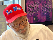 """The Hats are 3D embroidered """"New Miss"""" on front and """"James H. Meredith 1962"""" on back. $30 each plus  ( $8.00 shipping )plus shipping -and free delivery local-<br /> <br /> A part of the proceeds will go to support Black Lives Matter Mississippi and the James Meredith Interpretive Center.<br /> <br /> Venmo @ Suzi-Altman and DM or email me shipping address thank you.<br /> you can mail a check also- just ask for address thank you.<br /> <br /> CONTACT ME 601-668-9611 or suzi@suzialtman.com or direct message me.<br /> <br /> 6/10/2020 Jackson MS. <br /> Pictured is James Meredith wearing his new """"New Miss"""" hat. Pastor Robert West, gifted James Meredith, the first black man to attend the University of Ole Miss,  his new """" New Miss """" baseball hat about a year ago. He said """"The day James Meredith stepped onto the campus of The University of Mississippi  it was no longer """"Ole Miss""""  it ceased to exist. It was now """"New Miss""""<br /> Photo ©Suzi Altman New Miss is a registered trademark"""