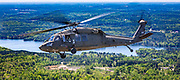 Sikorsky UH-60 Black Hawk helicopter, operated by the South Carolina National Guard.<br />