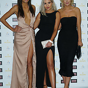 London, England, UK. 30th November 2017. Tyla Carr,China Ellis,Danielle Sellers attends the Urban Music Awards at Porchester Hall, London, UK.