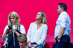 14-08-2018 NED: Champions League AFC Ajax - Standard de Liege, Amsterdam<br /> Third Qualifying Round,  3-0 victory Ajax during the UEFA Champions League match between Ajax v Standard Luik at the Johan Cruijff Arena / Chantal van Woensel, Marc Overmars
