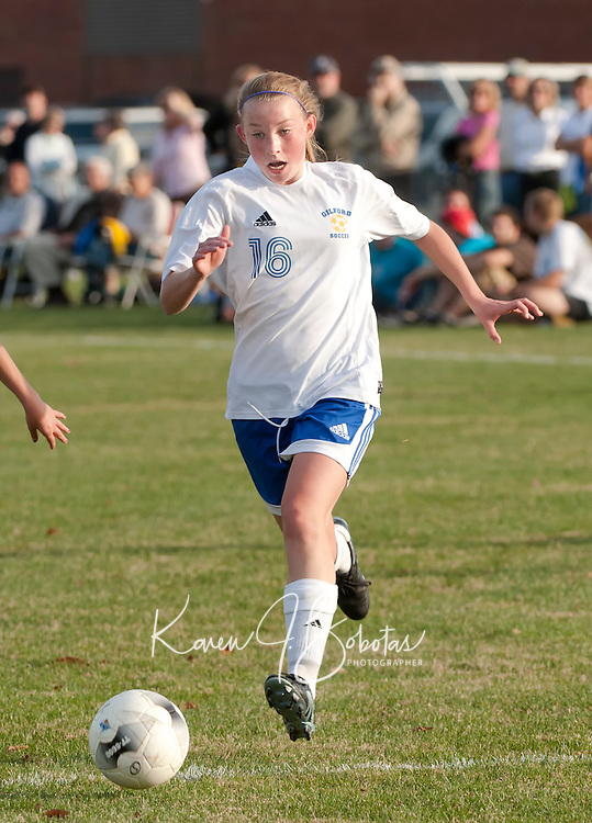 Varsity Soccer Gilford versus Monadnock October 26, 2010.