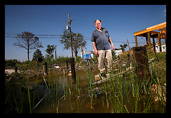 17 August 2006 - Slidell - Louisiana. George Arieux, 69 yrs old.<br />