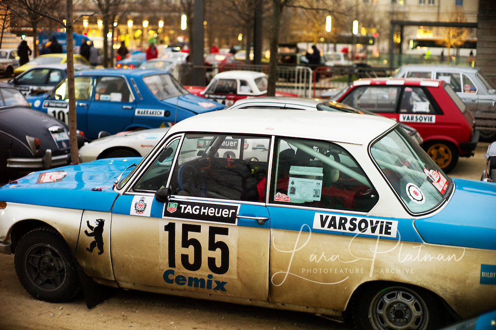 The 14th Rallye Monte Carlo Historique. Celebrating 100 years of the Rally. 1911-2011. Cars start from either Glasgow,Marakesh, Warsaw, Reims, Barcelona or Paris. Rallye Monte Carlo Historic,