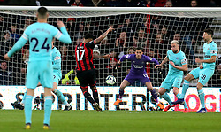 Bournemouth's Joshua King scores his side's second goal of the game during the Premier League match at the Vitality Stadium, Bournemouth.