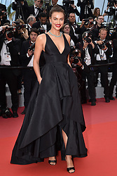 Cannes - Cleavages - Irina Shayk attending the Yomeddine screening held at the Palais des Festivals on May 9, 2018 in Cannes, France as part of the 71st annual Cannes Film Festival. Photo by Lionel Hahn/ABACAPRESS.COM