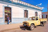 Truck in Cienfuegos, Cuba.