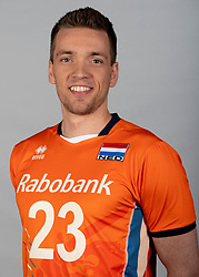 14-05-2018 NED: Team shoot Dutch volleyball team men, Arnhem<br /> Sjoerd Hoogendoorn #23 of Netherlands