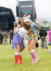 Fans in the main stage are..Saturday at Rockness 2012..©Michael Schofield..