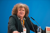 09 DEC 2014, KOELN/GERMANY:<br /> regina Goerner, Gewerkschafterin, CDU Bundesparteitag, Messe Koeln<br /> IMAGE: 20141209-01-162<br /> KEYWORDS: Party Congress, Regina Gröner