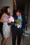 LOTTE LORIMER; ROCCO FORTE, The Cartier Chelsea Flower show dinner. Hurlingham club, London. 20 May 2013.