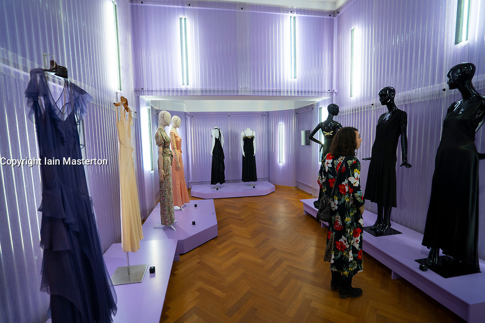 Exhibition Femmes Fatales, strong women in fashion , at the Gemeentemuseum in The Hague, Den Haag, The Netherlands