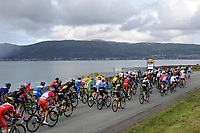 Illustration Peloton , during the Artic Race Norway 2014, Stage 4, Tromsø (Nor)- Tromsø (Nor) (165km)on August 17, 2014. Photo Tim de Waele / DPPI