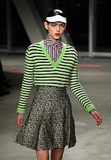 Jonathan Saunders A/W 2012 show at London Fashion Week