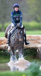Zara Tindall riding Gladstone competes at the Land Rover Gatcombe Horse Trials on the estate of the Princess Royal.