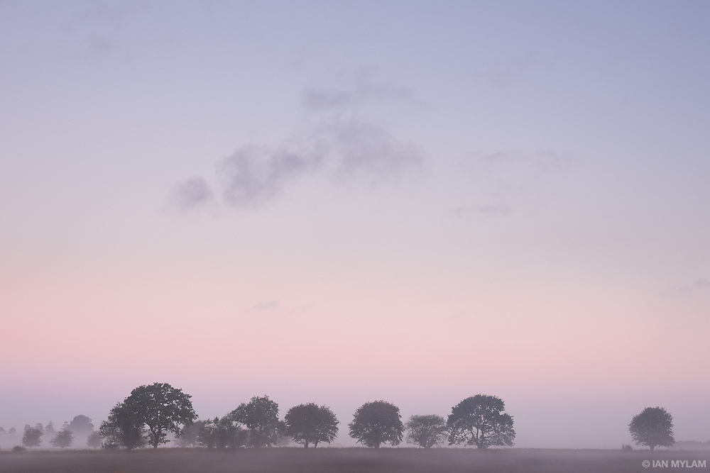 Dawn in Birkum, Denmark