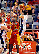 Kirk Penny (NZ)<br /> New Zealand Breakers vs Melbourne Tigers<br /> Basketball- NBL Semi Finals Game 1<br /> Melbourne / Weds 25 Feb 2009<br /> © Sport the library / Jeff Crow