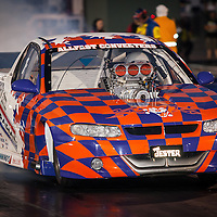 """""""The Jester"""" Don Freind (3498) - Supercharged Outlaws."""