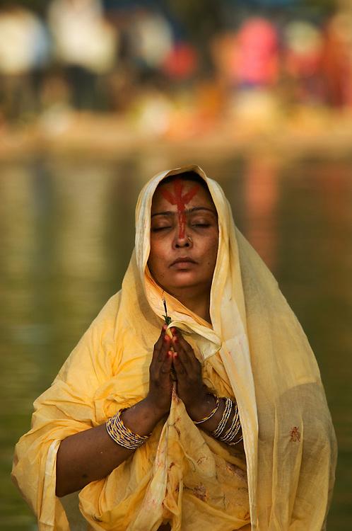Puja given at Diwali festival near India Gate, Delhi
