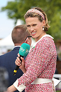 ITV Racing Presenter Francesca Cumani during the third day of the Dante Festival at York Racecourse, York, United Kingdom on 17 May 2019.
