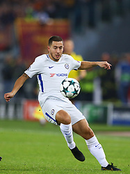 October 31, 2017 - Rome, Italy - Eden Hazard of Chelsea during the UEFA Champions League group C match between AS Roma and Chelsea FC at Stadio Olimpico on October 31, 2017 in Rome, Italy. (Credit Image: © Matteo Ciambelli/NurPhoto via ZUMA Press)