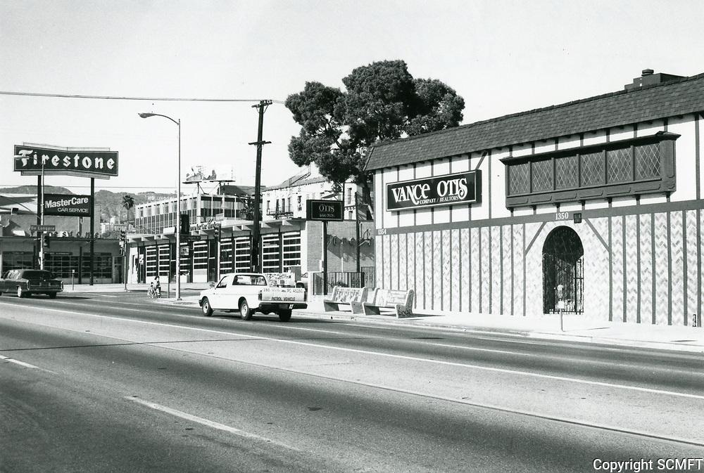 1987 Vance Otis Real Estate office on Highland Ave.