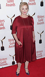 J Smith Cameron arrivals at the Writers Guild Awards 2019 in New York City, USA on February 17, 2019.