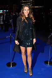 © Licensed to London News Pictures. 21/03/2017. ELIZABETH HURLEY attends the opening night performance of An American In Paris  at the Dominion Theater. London, UK. Photo credit: Ray Tang/LNP