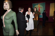 JAMES BIRCH; ELEESA DADIANI, Allen Jones private view. Royal Academy,  London. 11 November  2014.