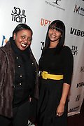 7 March 2011- New York, NY- l to r: Kiera Edwards and Rochelle Hill at the Power of Urban Presentation and Reception hosted by Magic Johnson and Yucaipa and held at the Empire Penthouse on March 7, 2011 in New York City. Photo Credit: Terrence Jennings/Photo Credit: Terrence Jennings for Uptown Magazine