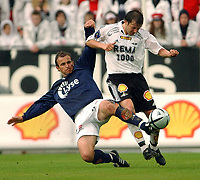Fotball tippeligaen 16.05.04, Rosenborg - Viking 0-2<br /> Trygve Nygaard og Roar Strand<br /> Foto: Carl-Erik Eriksson, Digitalsport
