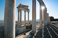 The Historical Sites And Nature Along The Aegean Coast In Turkey