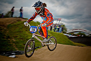 at the UCI BMX Supercross World Cup in Papendal, Norway.