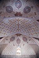 Iran. Isfahan Ali qapu palace on Naqsh e Jahan square also known as imam square