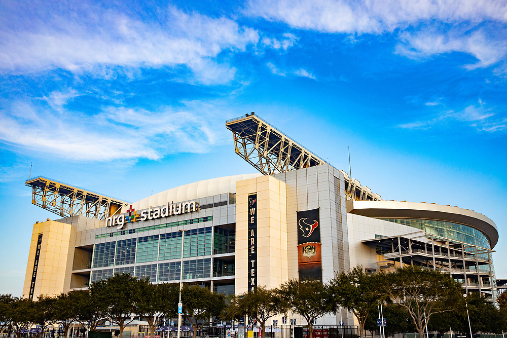 HOUSTON, TX - DECEMBER 8:  Exterior view of NRG Stadium, home of the Houston Texans, before a game against the Denver Broncos at NRG Stadium on December 8, 2019 in Houston, Texas.   (Photo by Wesley Hitt/Getty Images) *** Local Caption ***