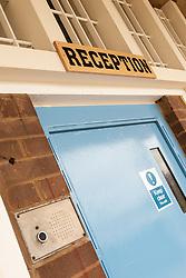 Reception, HMP Newport, Isle of Wight