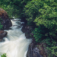 Himalayan stream in Annapurna massif, Nepal