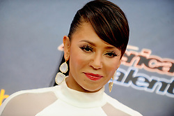 """Mel B at """"America's Got Talent"""" Pre-Show Red Carpet Event in New York, USA."""