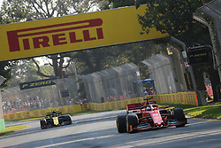 March 16, 2019 - SEBASTION VETTEL during qualifying for the 2019 Formula 1 Australian Grand Prix on March 16, 2019 In Melbourne, Australia  (Credit Image: © Christopher Khoury/Australian Press Agency via ZUMA  Wire)
