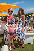 AMY WILLIAMS; ALLY KING, The Veuve Clicquot Gold Cup Final.<br /> Cowdray Park Polo Club, Midhurst, , West Sussex. 15 July 2012.