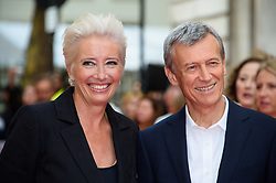 Emma Thompson and Duncan Kenworthy attending the Children Act Premiere, at the Curzon Mayfair cinema in London.Picture date: Thursday August 16, 2018. Photo credit should read: Matt Crossick/ EMPICS Entertainment.