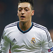 Real Madrid's Mesut Ozil during their UEFA Champions League Quarter-finals, Second leg match Galatasaray between Real Madrid at the TT Arena AliSamiYen Spor Kompleksi in Istanbul, Turkey on Tuesday 09 April 2013. Photo by Aykut AKICI/TURKPIX
