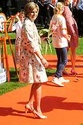 KONINGINNEDAG 2009 in Apeldoorn / Queensday 2009 in the city of Apeldoorn.<br /> <br /> Op de foto / On the Photo:<br />  Princes Laurentien