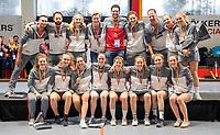 HAMBURG  (Ger) -   Photo: Club an der Alster with the third place.    Eurohockey Indoor Club Cup 2019 Women . WORLDSPORTPICS COPYRIGHT  KOEN SUYK